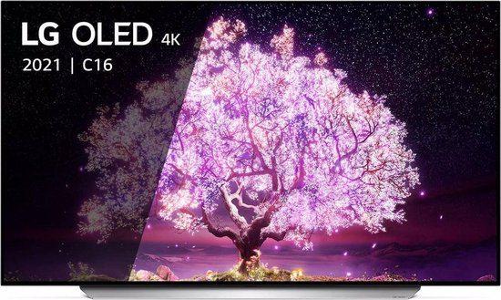LG C1 OLED65C16LA 2021 65″ 4K OLED Smart TV voor €1535