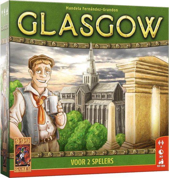 Glasgow bordspel van 999Games voor €12,02