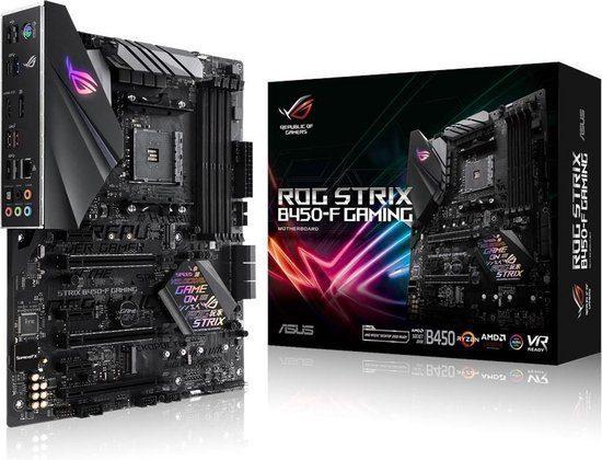 Asus ROG Strix B450-F Gaming Moederbord voor €90,90