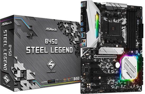 ASRock B450 Steel Legend Moederbord voor €64,90
