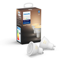 2x Philips Hue White Ambiance GU10 voor €29,99