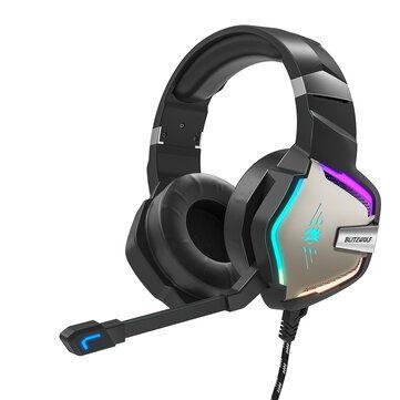 BlitzWolf® BW-GH1 Pro Gaming Headset voor €21,09 door kortingscode
