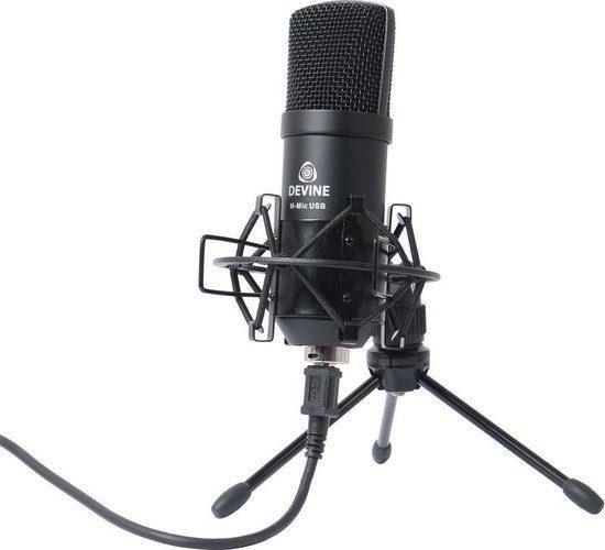 Devine M-Mic USB W Condensatormicrofoon wit voor €22,10