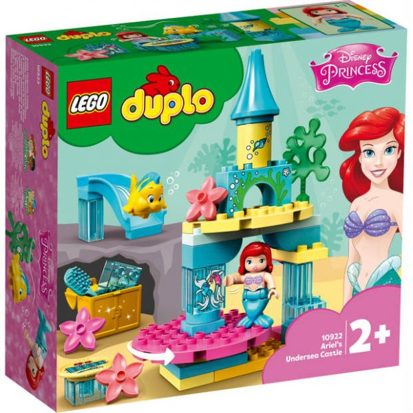 1+1 Gratis op LEGO Duplo Disney Ariëls Onderzeese kasteel 10922