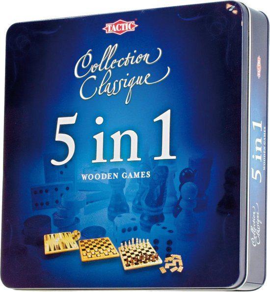 Tactic 5 in 1 – Gezelschapsspel voor €9,56
