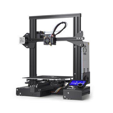 Creality 3D® Ender-3 3D Printer voor €118,70 door kortingscode