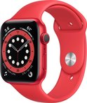 Apple Watch Series 6 Rood – 40 mm voor €309,95
