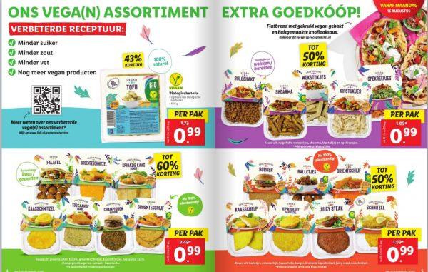 Alle vleesvervangers voor €0,99