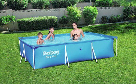 Bestway Steel Pro 300 x 201 x 66 cm – Opzetzwembad voor €55