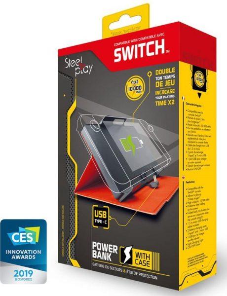Steelplay Powerbank 10.000mAh (Nintendo Switch) voor €19,79