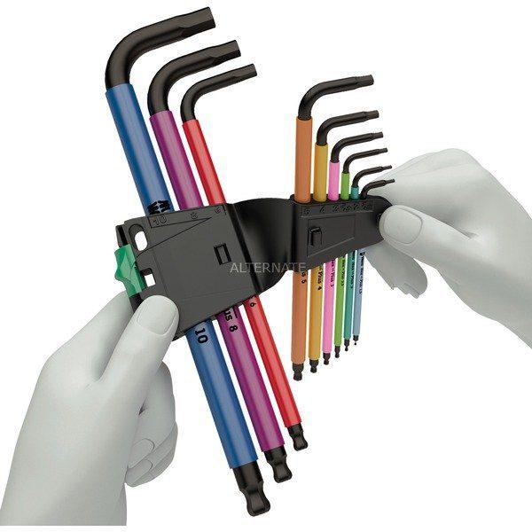 Wera Inbussleutelset 950/9 Hex-Plus Multicolour HF 1 schroevendraaier voor €26,79