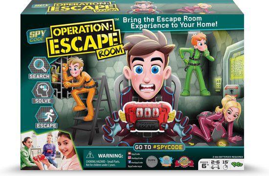 YULU – Spy Code Operation: Escape Room voor €7,62