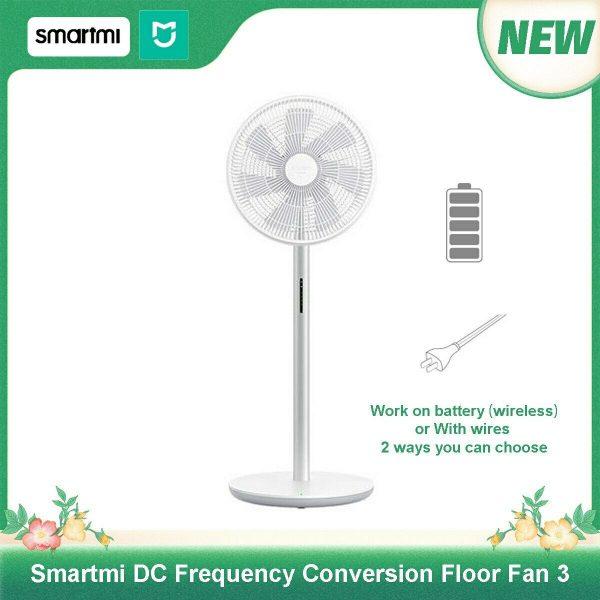 Xiaomi Smartmi Standing Floor Fan 3 voor €72,- door kortingscode