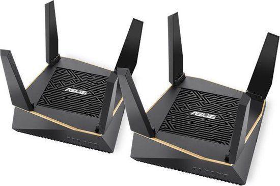 2x Asus AiMesh RT-AX92U Duo Pack voor €243,95