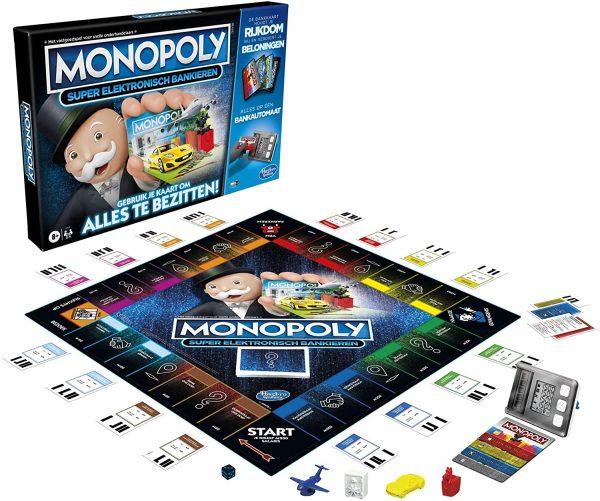 Monopoly Super Elektronisch Bankieren – Bordspel voor €21,99