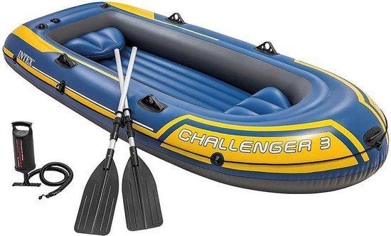 Intex Challenger 3 Opblaasboot set voor €39,95