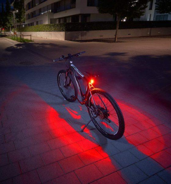 Fischer Twin Fietsachterlicht met 360 graden verlichting voor €7,78