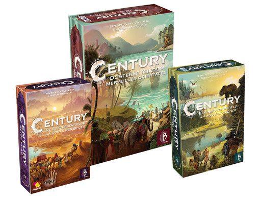 Spellenbundel Century Combi voor €59,95