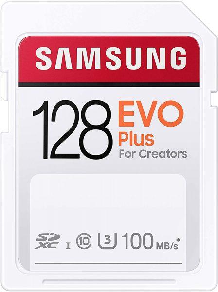 Samsung EVO Plus SDXC 128GB voor €13