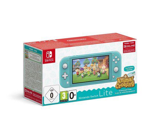 Nintendo Switch Lite Incl. Animal Crossing: New Horizons & Nintendo Switch Online voor €209