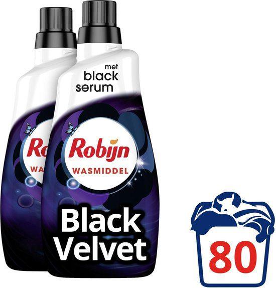 2x Robijn Klein & Krachtig Black Velvet voor €10,13