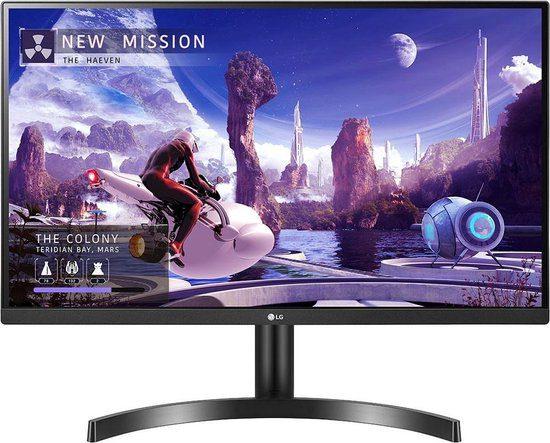 LG 27QN600 – 27″ QHD IPS Monitor voor €199