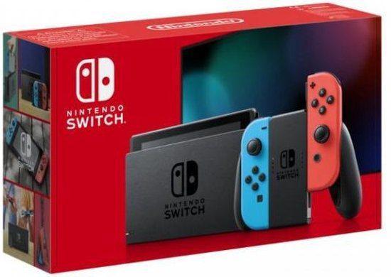 Nintendo Switch Console – Blauw / Rood voor €285,99