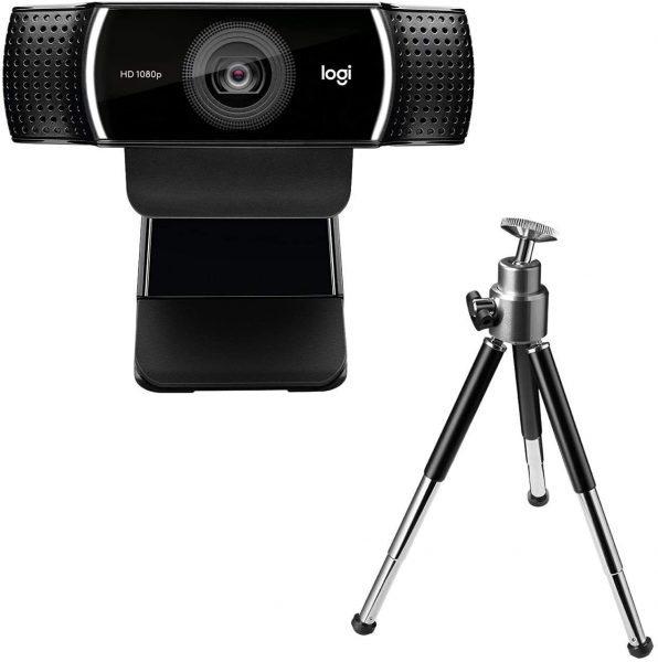 Logitech C922 Pro Stream Webcam – Zwart voor €63,19