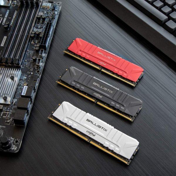 Crucial Ballistix 2x16GB DDR4 RAM Kit voor €122,02