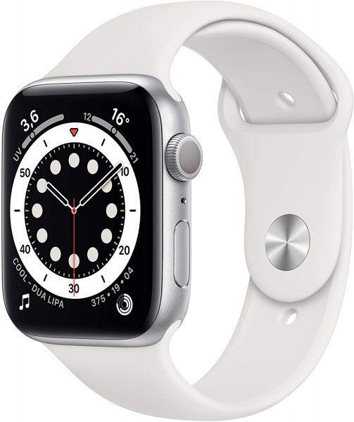 Apple Watch Series 6 Wit (GPS, 44 mm) voor €368,95