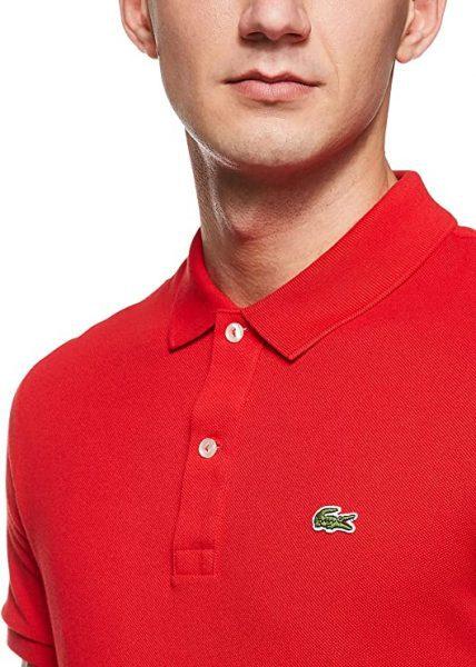 Lacoste heren polo rood voor €28,50
