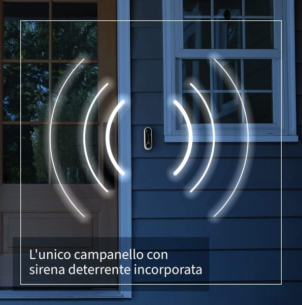 Arlo Wire Free Video Doorbell Wit voor €97,06