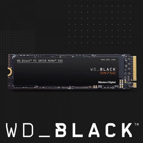 WD Black SN750 1TB SSD voor €96,50