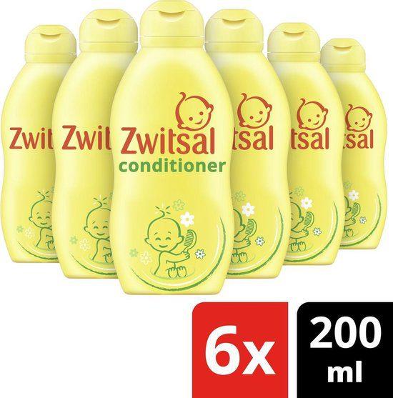 6x 200ml Zwitsal Conditoner Voordeelverpakking voor €10,76