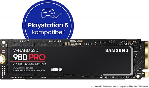 Samsung 980 PRO 500GB NVMe M.2 SSD voor €74,50