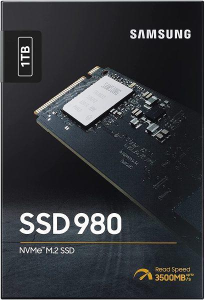 Samsung 980 1TB NVMe M.2 SSD voor €88,90
