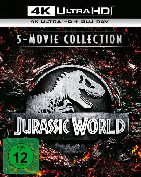 Jurassic World 5-Movie Collection 4K Ultra HD voor €69,99