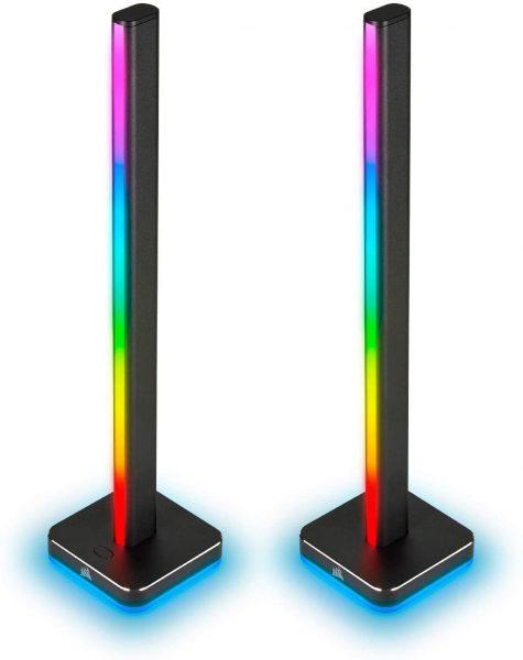2x Corsair iCUE LT100 Smart Lighting Towers Starterskit voor €99,99