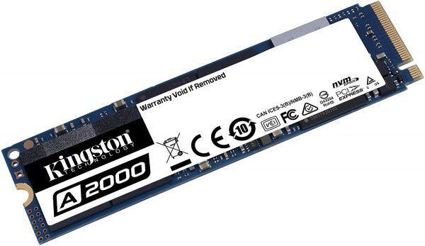 Kingston A2000 1TB NVMe SSD voor €76,90