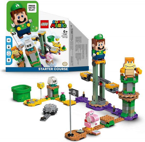 LEGO 71387 Super Mario Startset Avonturen met Luigi voor €36,80