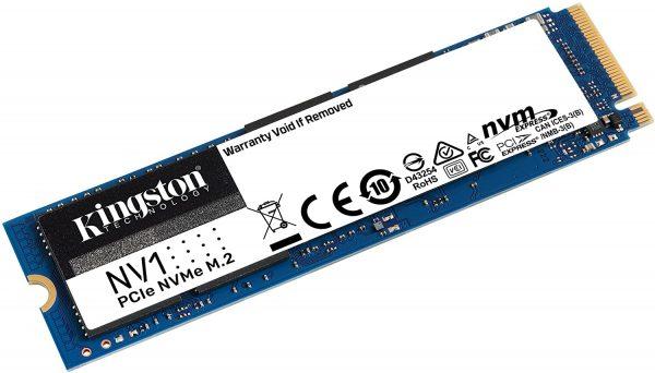 Kingston NV1 NVMe PCIe 1TB SSD voor €75
