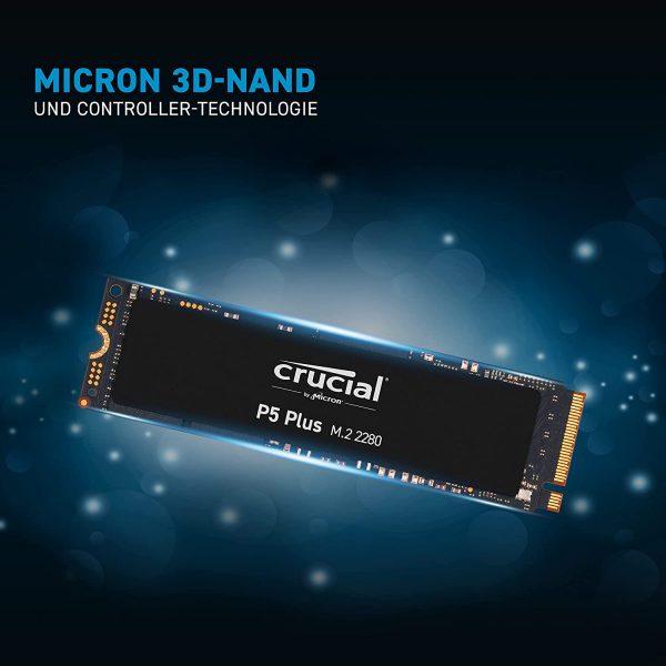 Crucial P5 Plus – NVMe SSD voor €132,18