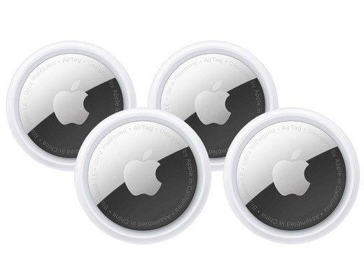 4x Apple AirTag voor €89,95