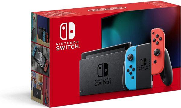 Nintendo Switch Console (Rood/Blauw) voor €266,09